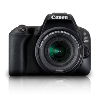 (PROMO)Canon EOS 200D DSLR Camera in Black + 18-55mm IS STM Lens Kit (Canon Malaysia )