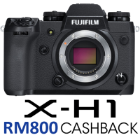 Fujifilm X-H1 Mirrorless Digital Camera Body with Battery Grip