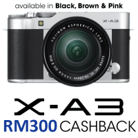 Fujifilm X-A3 with 16-50mm Lens (BROWN)
